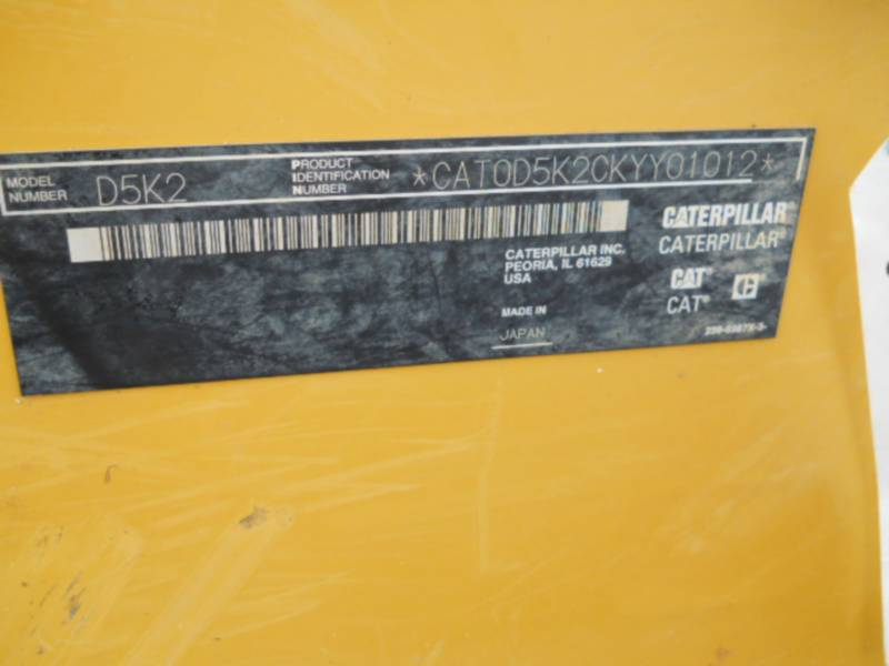 CATERPILLAR TRACTORES DE CADENAS D5K2LGP equipment  photo 24