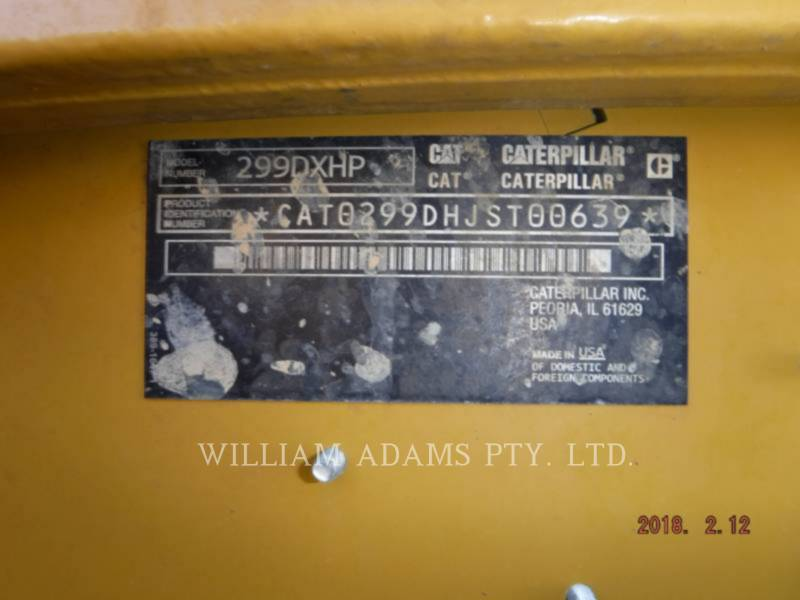 CATERPILLAR PALE CINGOLATE MULTI TERRAIN 299DXHP equipment  photo 8