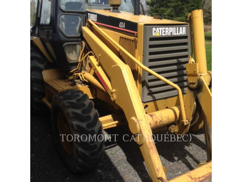 CATERPILLAR CHARGEUSES-PELLETEUSES 416B equipment  photo 5