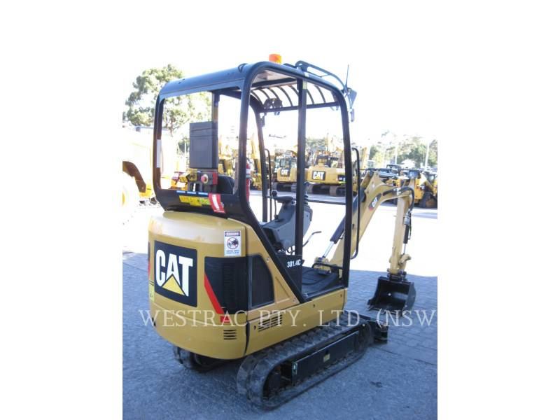 CATERPILLAR TRACK EXCAVATORS 301.4C equipment  photo 3