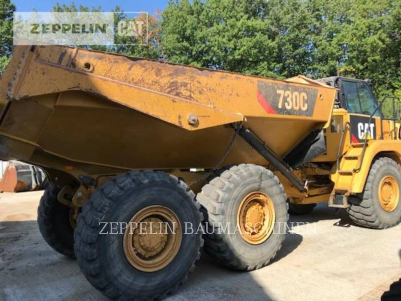 CATERPILLAR KNIKGESTUURDE TRUCKS 730C equipment  photo 5