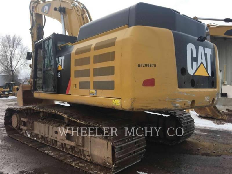 CATERPILLAR TRACK EXCAVATORS 349E L THM equipment  photo 6