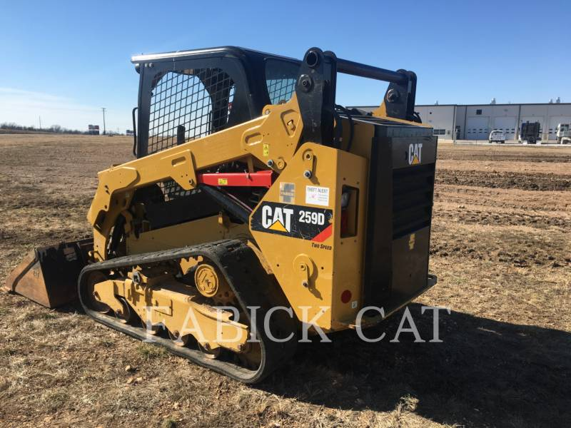 CATERPILLAR CARGADORES MULTITERRENO 259D C1H2 equipment  photo 4
