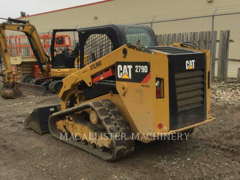 CATERPILLAR CARGADORES MULTITERRENO 279D equipment  photo 5