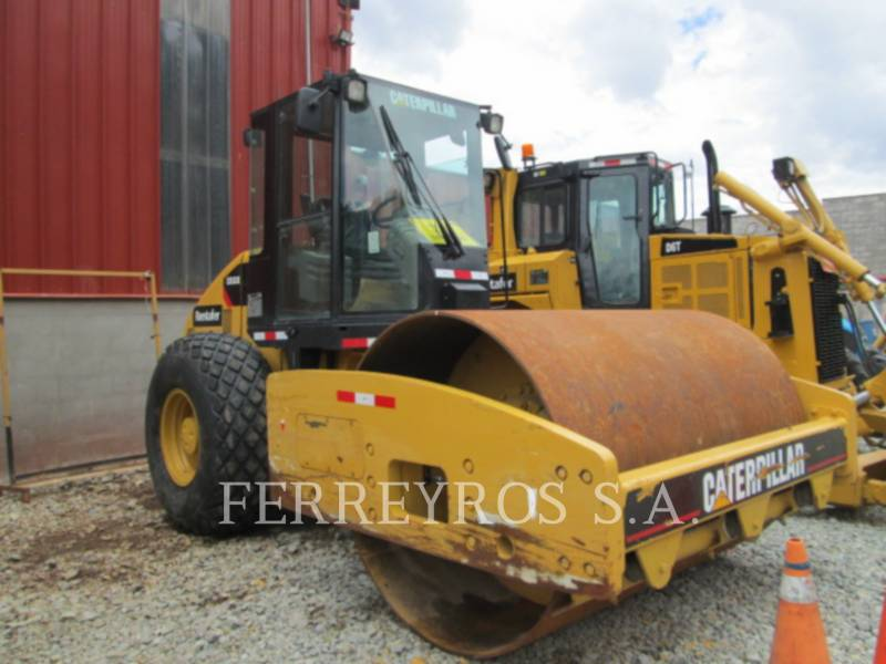 CATERPILLAR COMPATTATORE A SINGOLO TAMBURO VIBRANTE LISCIO CS-533E equipment  photo 1