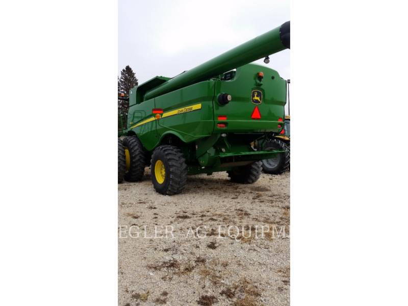 DEERE & CO. COMBINES S680 equipment  photo 4