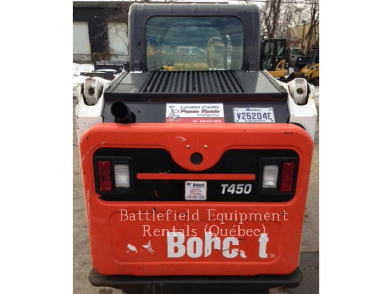 BOBCAT MULTI TERRAIN LOADERS T450 equipment  photo 8