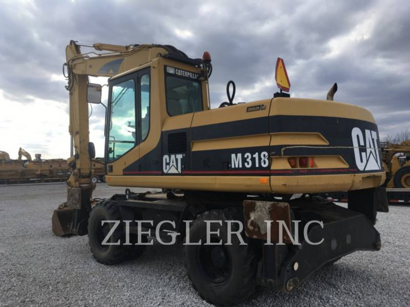 CATERPILLAR PELLES SUR PNEUS M318 equipment  photo 5