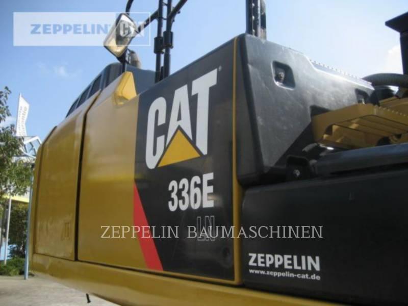 CATERPILLAR KETTEN-HYDRAULIKBAGGER 336ELN equipment  photo 12