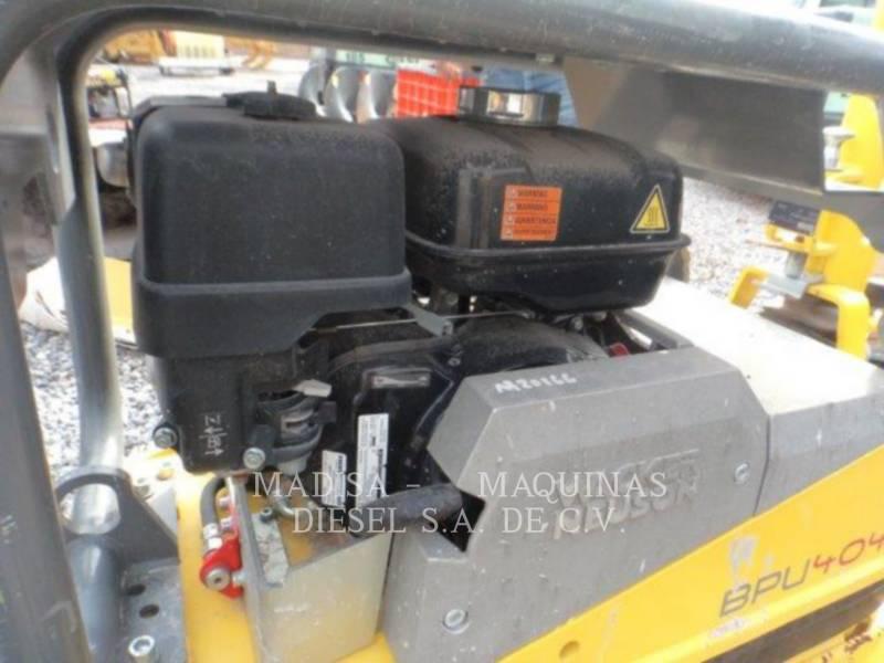 WACKER CORPORATION AG - VIBRATIONSPLATTENVERDICHTER BPU4045  equipment  photo 2