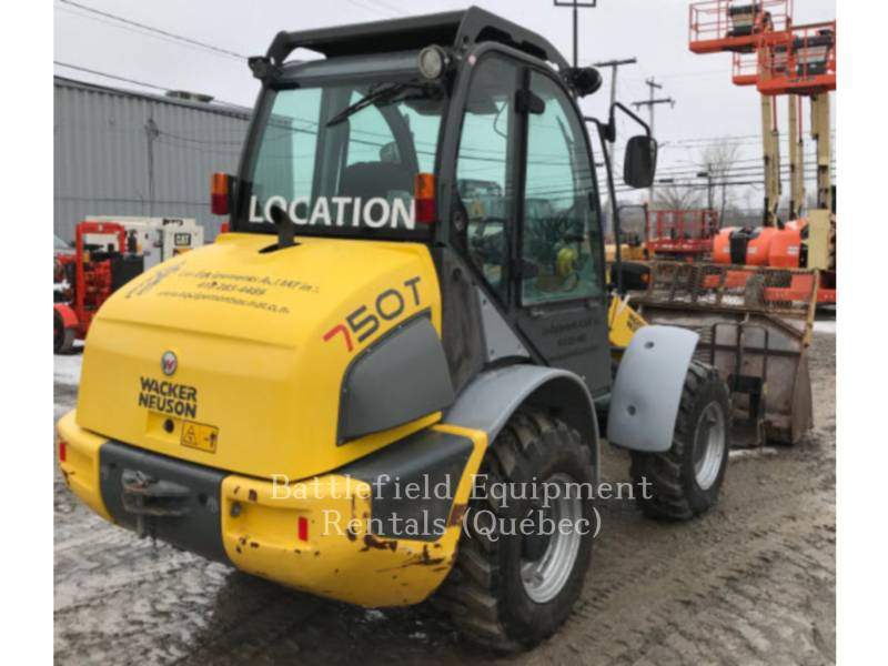 NEUSON W WHEEL LOADERS/INTEGRATED TOOLCARRIERS 750T equipment  photo 4
