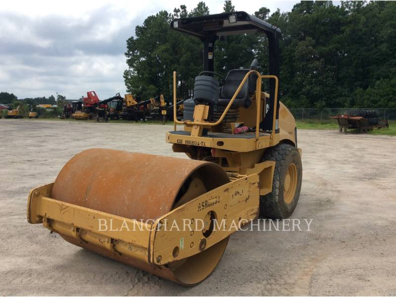 CATERPILLAR VIBRATORY SINGLE DRUM SMOOTH CS-433E equipment  photo 1