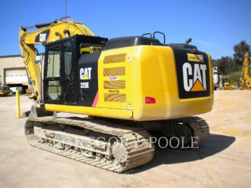 CATERPILLAR TRACK EXCAVATORS 320E/HYD equipment  photo 23