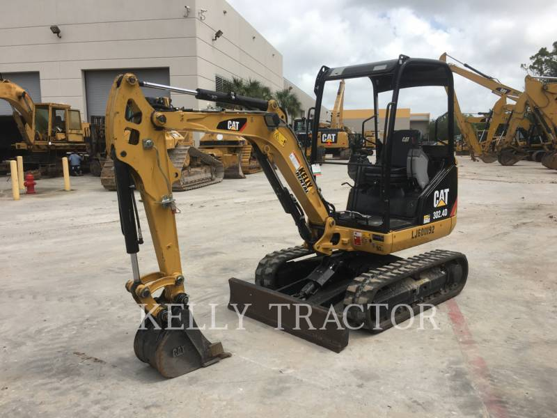 CATERPILLAR KETTEN-HYDRAULIKBAGGER 302.4D equipment  photo 1