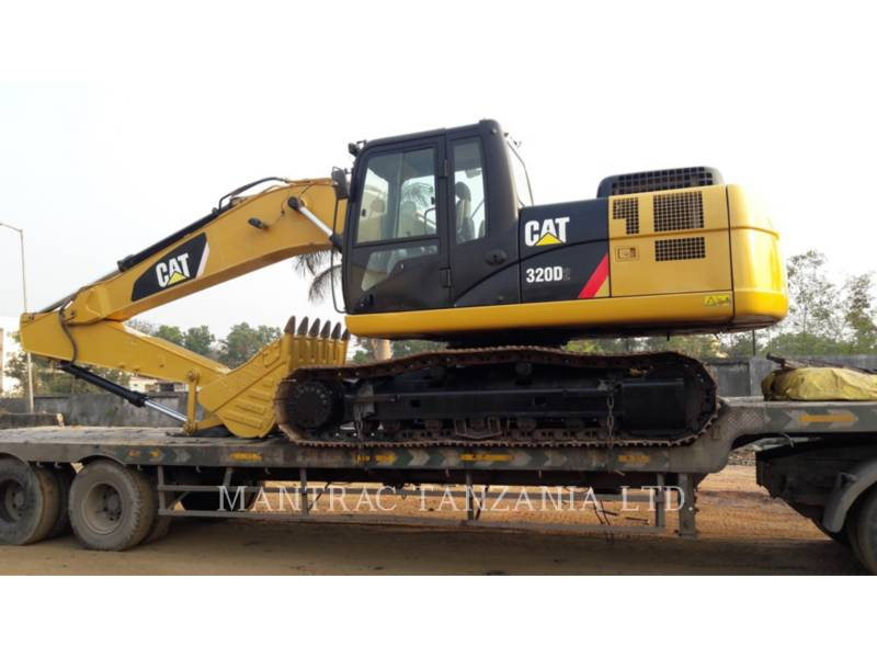 CATERPILLAR RUPSGRAAFMACHINES 320 D equipment  photo 11