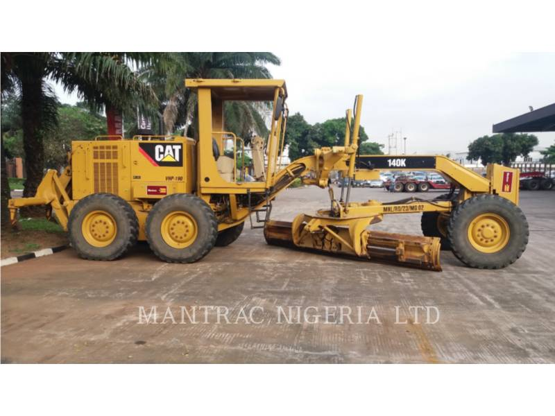 CATERPILLAR MOTORGRADER 140 K equipment  photo 1