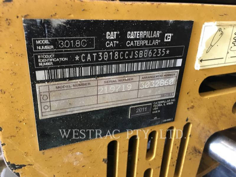 CATERPILLAR MINING SHOVEL / EXCAVATOR 301.8C equipment  photo 8