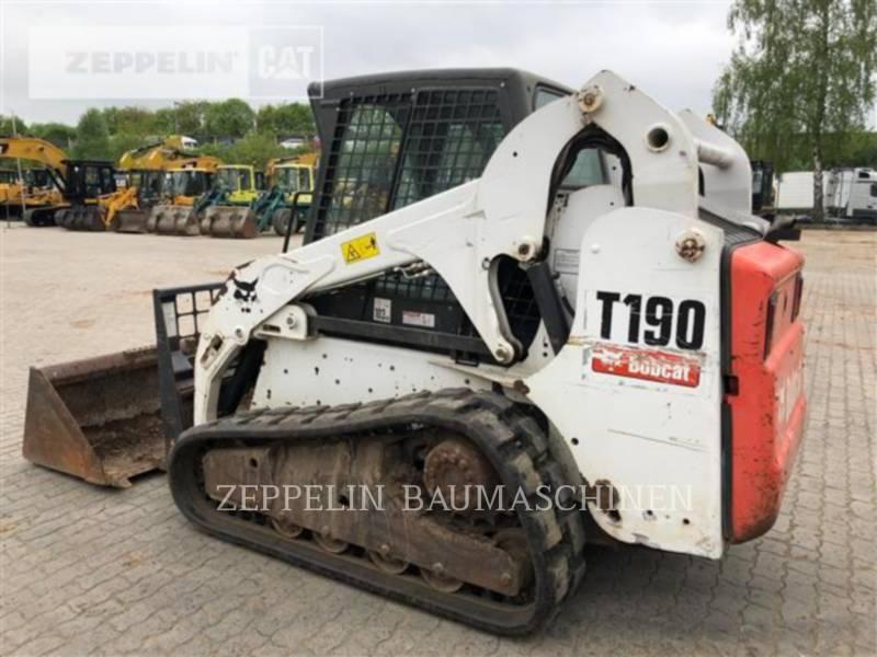 BOBCAT SKID STEER LOADERS T190 equipment  photo 4