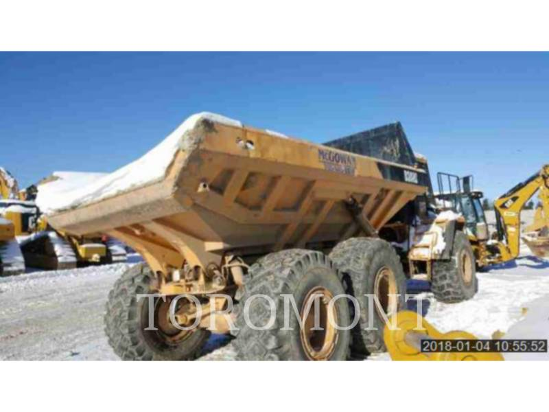 CATERPILLAR TOMBEREAUX DE CHANTIER D300D equipment  photo 3