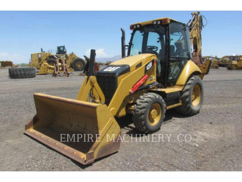 CATERPILLAR CHARGEUSES-PELLETEUSES 420F 4EC P equipment  photo 1