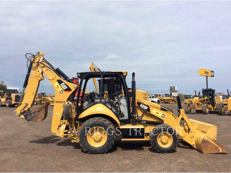 CATERPILLAR バックホーローダ 420F 4E equipment  photo 7