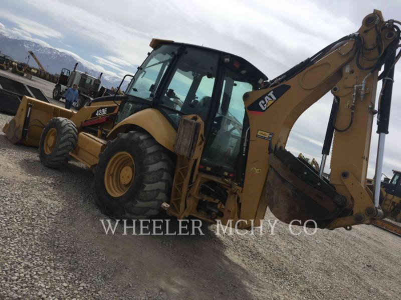 CATERPILLAR BAGGERLADER 420E E THM equipment  photo 7