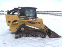 DEERE & CO. KOMPAKTLADER CT332 equipment  photo 3