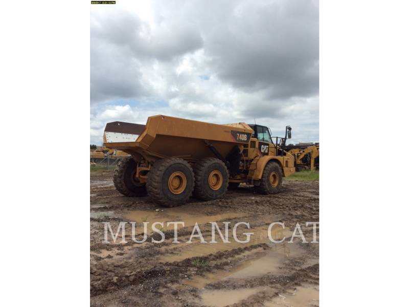 CATERPILLAR DUMPER ARTICOLATI 740B equipment  photo 10