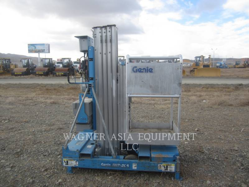 GENIE INDUSTRIES LEVANTAMIENTO - TIJERA IWP-20S equipment  photo 1