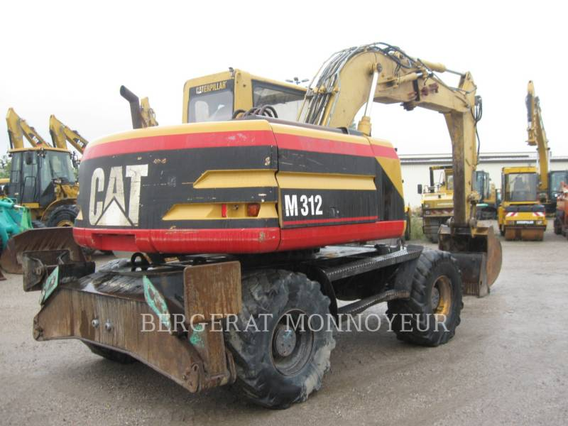 CATERPILLAR WHEEL EXCAVATORS M312 equipment  photo 3