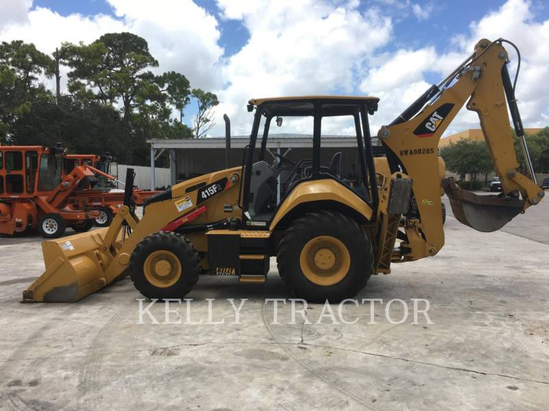 CATERPILLAR BAGGERLADER 415F2ST equipment  photo 2