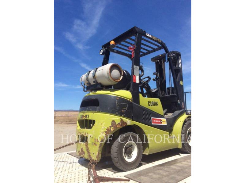 CLARK ELEVATOARE CU FURCĂ C25L equipment  photo 4