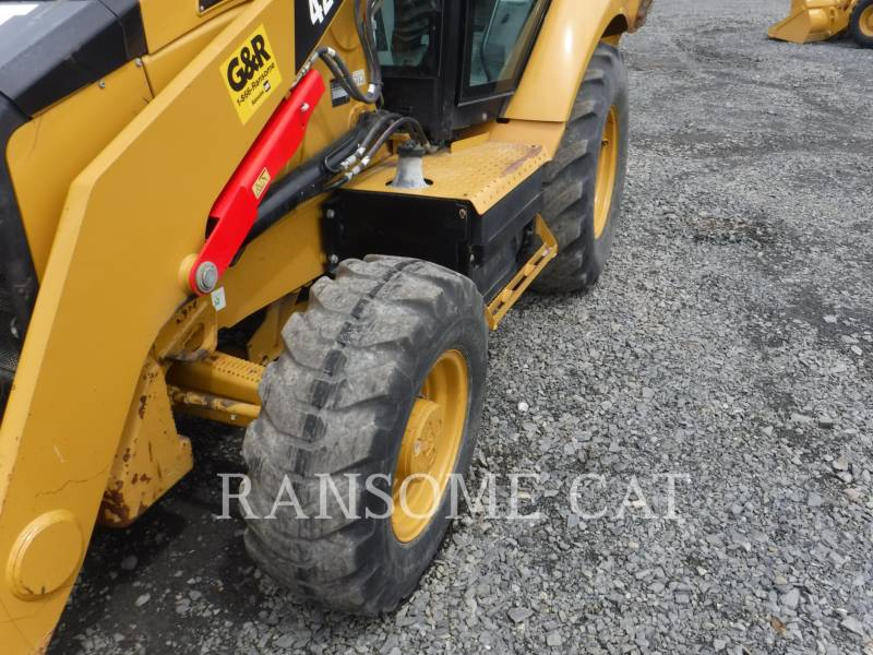 CATERPILLAR RETROESCAVADEIRAS 420F equipment  photo 8