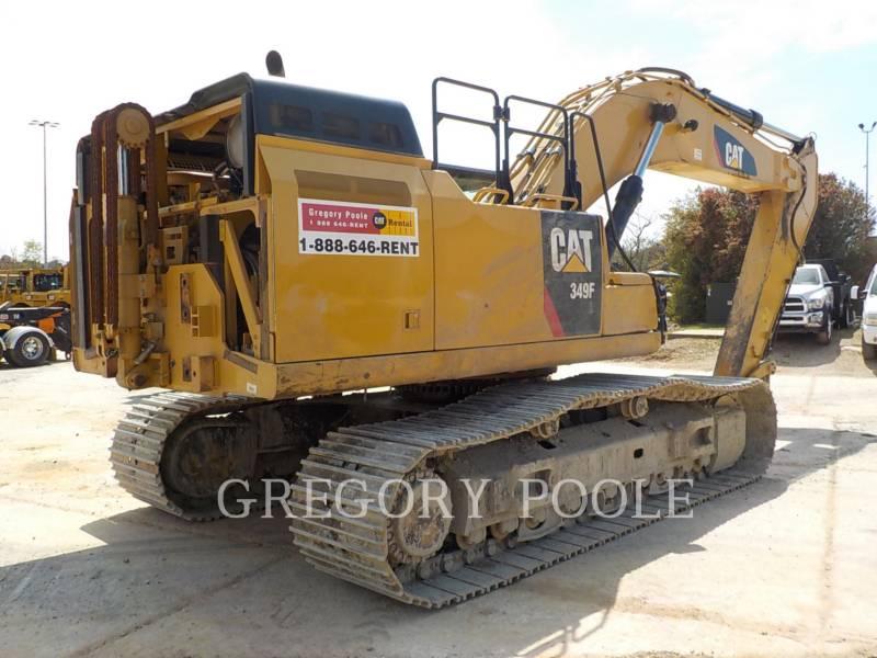CATERPILLAR TRACK EXCAVATORS 349F L equipment  photo 10