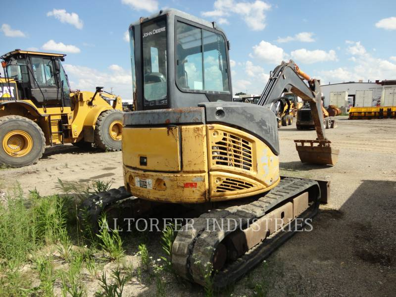 JOHN DEERE KETTEN-HYDRAULIKBAGGER 50D equipment  photo 4