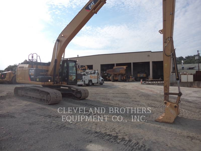 CATERPILLAR TRACK EXCAVATORS 324EL LR equipment  photo 2