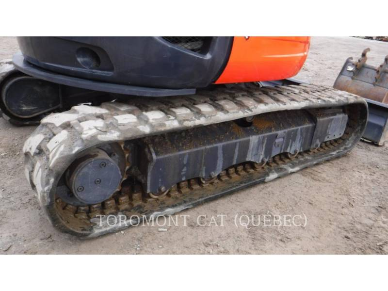 KUBOTA CORPORATION TRACK EXCAVATORS U55 equipment  photo 7