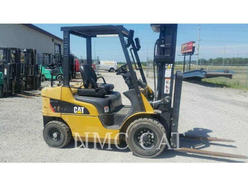 CATERPILLAR LIFT TRUCKS FORKLIFTS 2P5000GLE_MC equipment  photo 3
