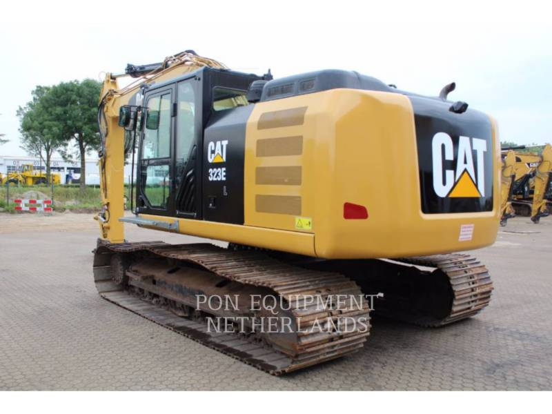 CATERPILLAR TRACK EXCAVATORS 323 EL equipment  photo 3