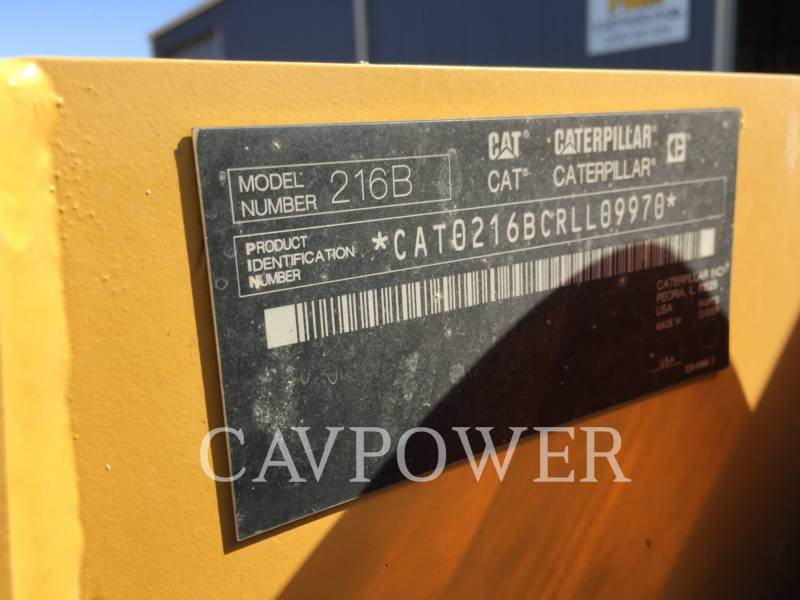 CATERPILLAR CHARGEURS COMPACTS RIGIDES 216B2 equipment  photo 7