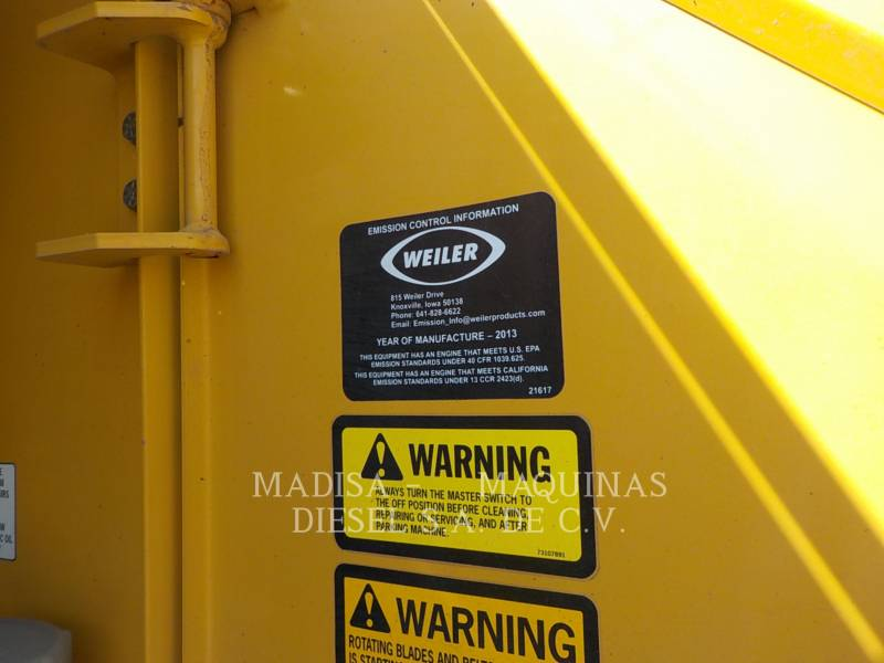 NORAM MOTORGRADER 65 E TURBO (CATERPILLAR) equipment  photo 14