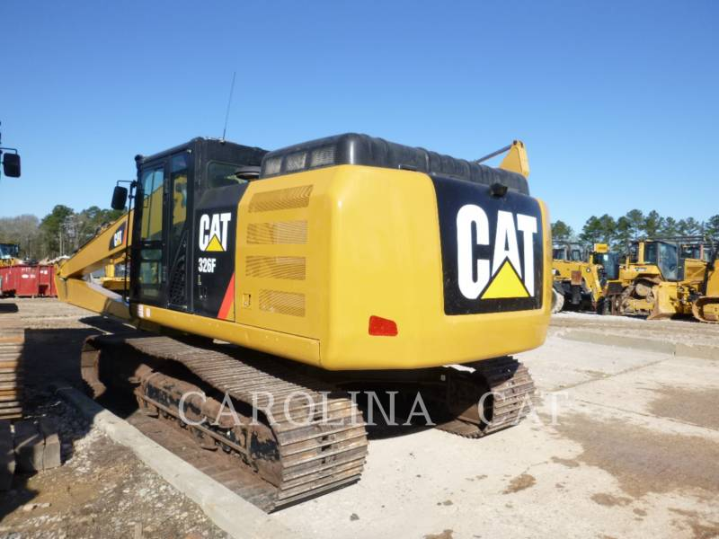 CATERPILLAR TRACK EXCAVATORS 326FL LR equipment  photo 2