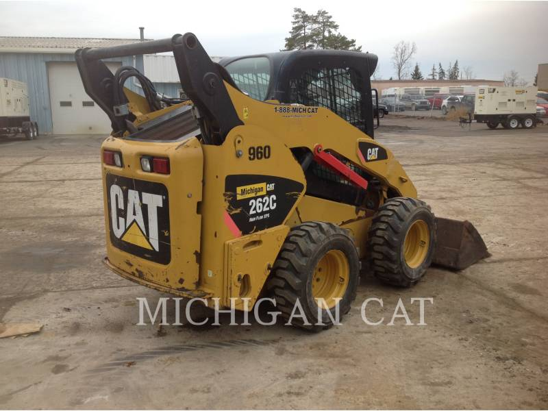 CATERPILLAR MINICARREGADEIRAS 262C AHQ equipment  photo 4