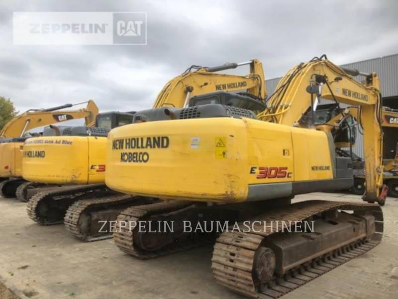 NEW HOLLAND EXCAVADORAS DE CADENAS E305C equipment  photo 3