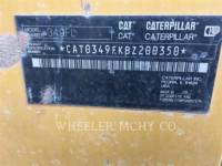 CATERPILLAR EXCAVADORAS DE CADENAS 349F L equipment  photo 11