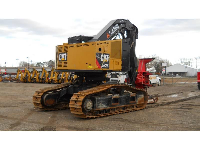 CATERPILLAR 林業 - フェラー・バンチャ - トラック 522B equipment  photo 5