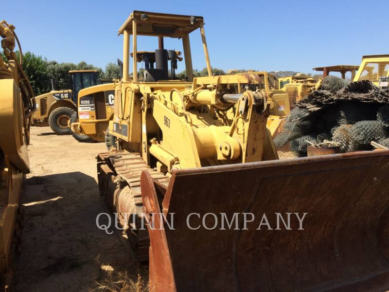 CATERPILLAR CARGADORES DE CADENAS 963LGP equipment  photo 4