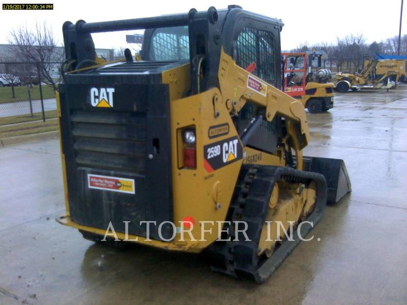 Caterpillar MINIÎNCĂRCĂTOARE RIGIDE MULTIFUNCŢIONALE 259D W equipment  photo 4