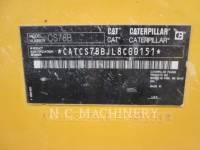 CATERPILLAR PAVIMENTADORA DE ASFALTO CS78B equipment  photo 8