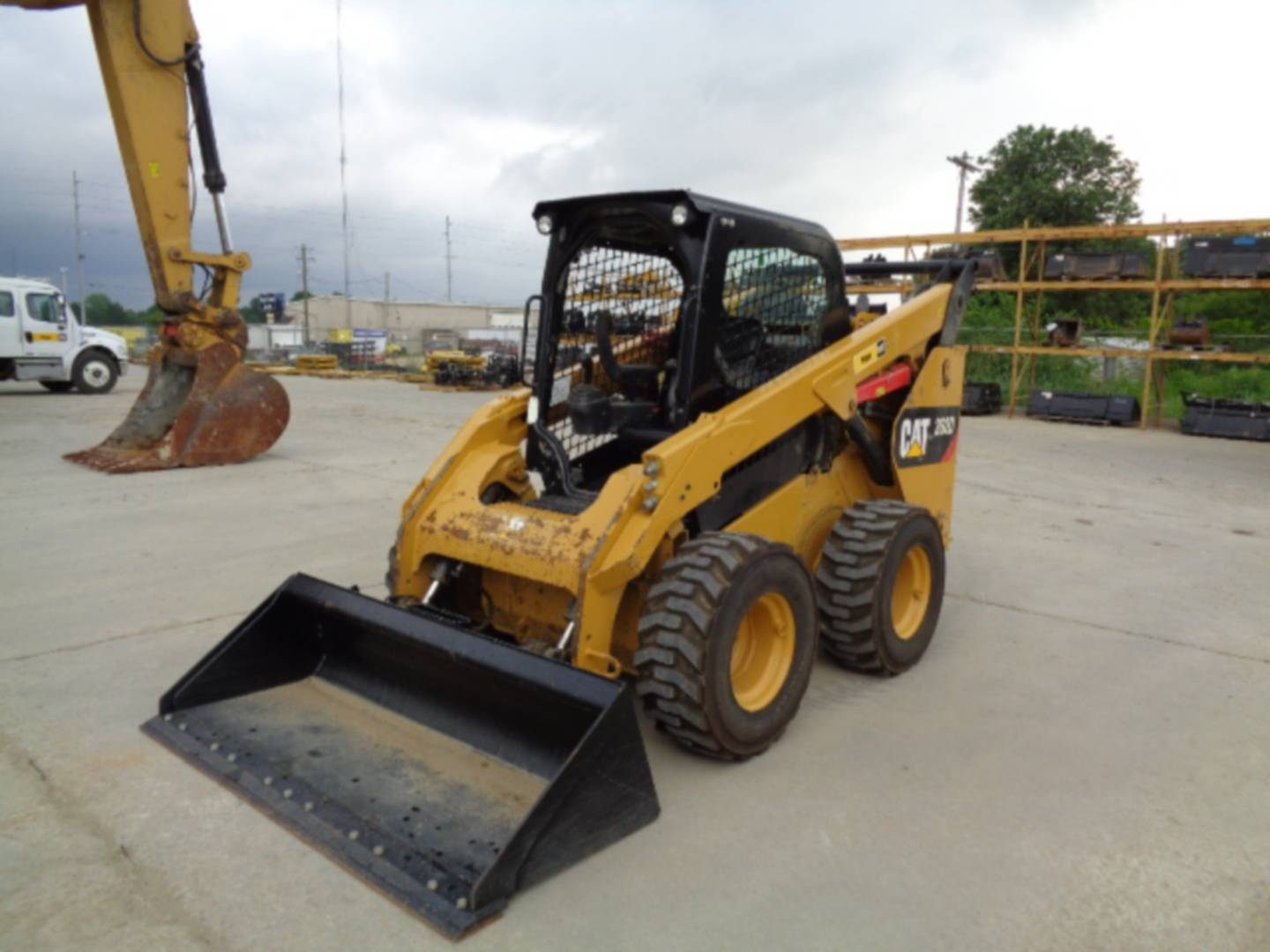 Skid Steer Tools : Used caterpillar d for sale whayne cat